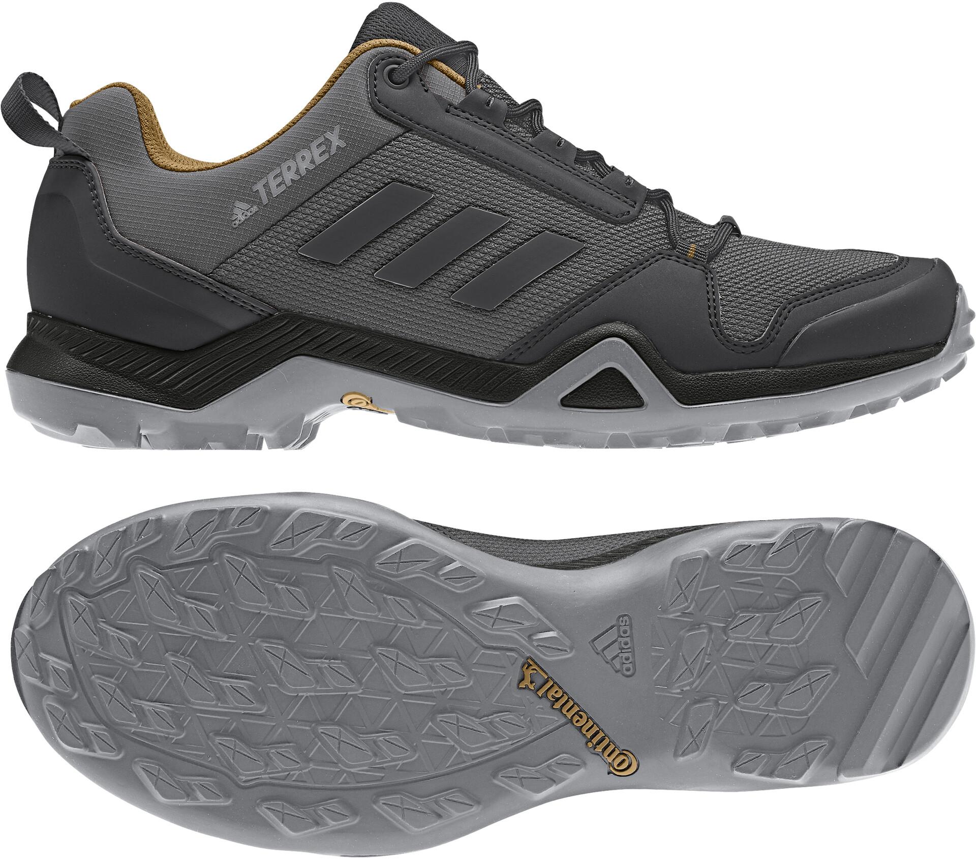 adidas TERREX AX3 Wandelschoenen Lightweight Heren, grey five/core  black/mesa